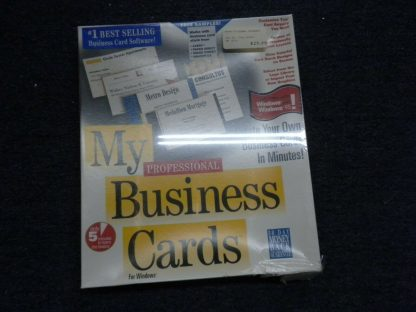 My Mail manager My Business Cards MySoftware Company Wins 31 or higher 1995 NIB 264352187358 6