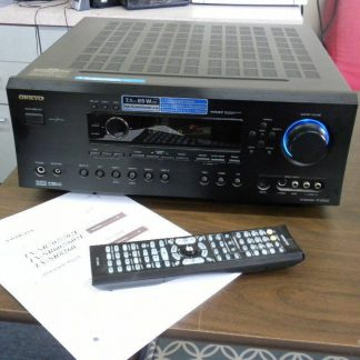 Onkyo TX SR602 71 Channel 85w x7 600W Home Theater AV Receiver Works Great 264594046348