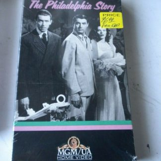 The Philadelphia Story VHS Cary Grant Katharine Hepburn James Stewart NIB NEW 264517363438