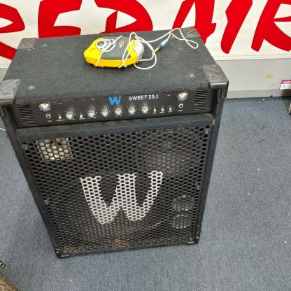 Warwick Sweet 251 Bass Combo Amplifier with compressor equalizer power amp 274510289698