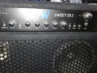 Warwick Sweet 251 Bass Combo Amplifier with compressor equalizer power amp 274510289698 5