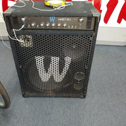 Warwick Sweet 251 Bass Combo Amplifier with compressor equalizer power amp 274510289698 8