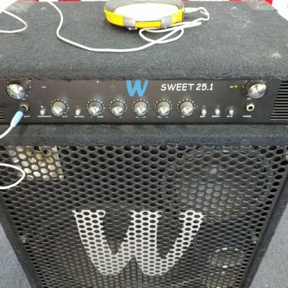 Warwick Sweet 251 Bass Combo Amplifier with compressor equalizer power amp 274510289698 9