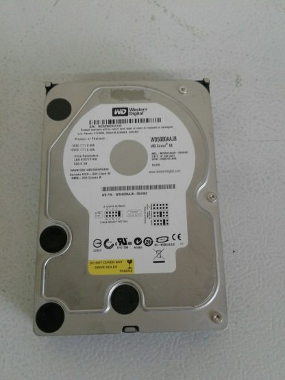 Western Digital 500GB WD5000AAJB 7200RPM PATAIDE 35 Desktop HDD Hard Drive 274539634968 3