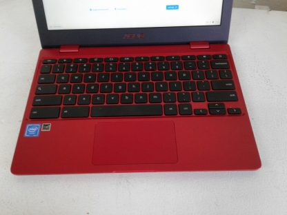 Asus C223N Chromebook Red Good condition 264849749789 2