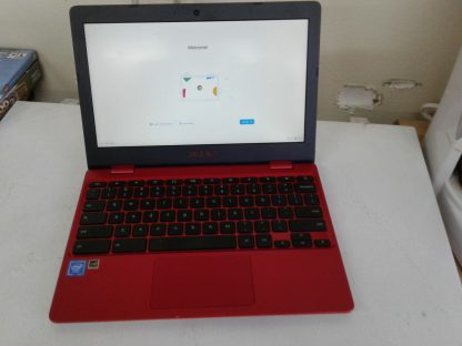 Asus C223N Chromebook Red Good condition 264849749789