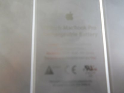 Genuine Apple MacBook Pro 15 108V 60Wh Battery A1175 50 Cts 5118Mah 264775753069 4