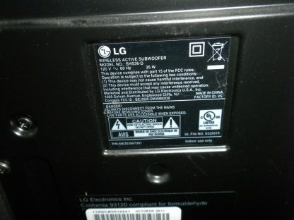 LG SHS36 D 40W Wireless Bluetooth Active Subwoofer Only 1 speaker only 264729839209 5