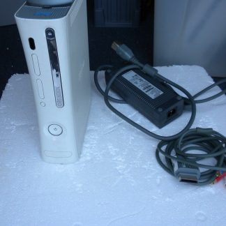 Microsoft Xbox 360 White 2006 Console AC Adapter Cables 264263506319