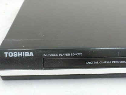 Toshiba SD K770KU Home Theatre DVD Player Cinema Progressive Works great 273893810259 2