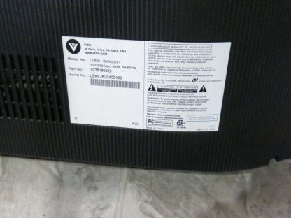 Vizio SV422XVT 42 TV No remote works great local pick up only 274409854339 5