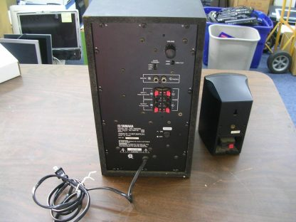 Yamaha YST SW005 Subwoofer System 55 watts amplifier output Active Servo tech 264580448069 2