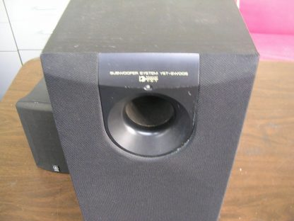 Yamaha YST SW005 Subwoofer System 55 watts amplifier output Active Servo tech 264580448069 3